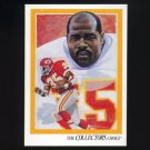 1992 Upper Deck Football #081 Christian Okoye TC - Kansas City Chiefs