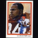 1992 Upper Deck Football #077 Kevin Mack TC - Cleveland Browns