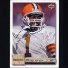 1992 Upper Deck Football #068 Michael Jackson - Cleveland Browns