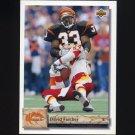 1992 Upper Deck Football #056 David Fulcher - Cincinnati Bengals
