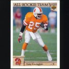1992 Upper Deck Football #051 Tony Covington AR - Tampa Bay Buccaneers