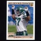 1992 Upper Deck Football #048 Mo Lewis AR - New York Jets