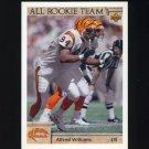 1992 Upper Deck Football #046 Alfred Williams AR - Cincinnati Bengals