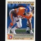1992 Upper Deck Football #044 Kenny Walker AR - Denver Broncos