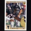 1992 Upper Deck Football #043 Moe Gardner AR - Atlanta Falcons