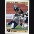 1992 Upper Deck Football #033 Nick Bell ART - Los Angeles Raiders