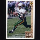 1992 Upper Deck Football #029 Jeff Sydner RC - Philadelphia Eagles