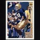 1992 Upper Deck Football #023 Tony Smith RC - Kansas City Chiefs