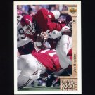 1992 Upper Deck Football #005 Joe Bowden RC - Houston Oilers