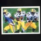 1992 Upper Deck Football #001 Edgar Bennett / Terrell Buckley / Dexter McNabb - Green Bay Packers