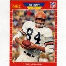 1989 Pro Set Football Announcers #26 Bob Trumpy