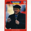 1989 Pro Set Football Announcers #22 Will McDonough