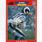 1989 Pro Set Football Announcers #16 Irv Cross