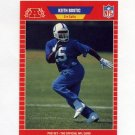 1989 Pro Set Football #456 Keith Bostic - Indianapolis Colts