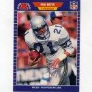 1989 Pro Set Football #398 Paul Moyer - Seattle Seahawks