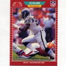 1989 Pro Set Football #367 Lee Williams - San Diego Chargers