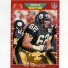 1989 Pro Set Football #349 Tunch Ilkin RC - Pittsburgh Steelers