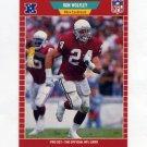 1989 Pro Set Football #340 Ron Wolfley - Phoenix Cardinals