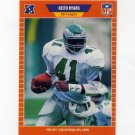 1989 Pro Set Football #313 Keith Byars - Philadelphia Eagles