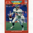 1989 Pro Set Football #305 Ken O'Brien - New York Jets