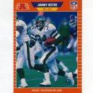 1989 Pro Set Football #298 Johnny Hector - New York Jets