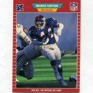 1989 Pro Set Football #282 Maurice Carthon - New York Giants