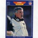 1989 Pro Set Football #278 Jim Mora CO - New Orleans Saints