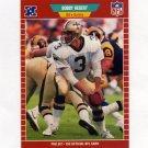 1989 Pro Set Football #266B Bobby Hebert - New Orleans Saints