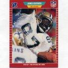 "1989 Pro Set Football #265 James ""Jumpy"" Geathers - New Orleans Saints"