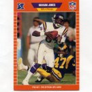 1989 Pro Set Football #230 Hassan Jones RC - Minnesota Vikings