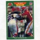 1989 Pro Set Football #180 Neil Smith RC - Kansas City Chiefs