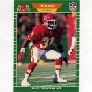 1989 Pro Set Football #179 Kevin Ross RC - Kansas City Chiefs