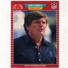 1989 Pro Set Football #154 Jerry Glanville CO - Houston Oilers