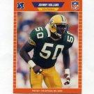 1989 Pro Set Football #137 Johnny Holland - Green Bay Packers