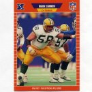 1989 Pro Set Football #130 Mark Cannon RC - Green Bay Packers