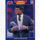 1989 Pro Set Football #114 Dan Reeves CO - Denver Broncos