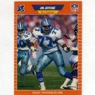 1989 Pro Set Football #090 Jim Jeffcoat - Dallas Cowboys