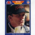 1989 Pro Set Football #072 Sam Wyche CO - Cincinnati Bengals