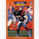 1989 Pro Set Football #059 David Fulcher - Cincinnati Bengals