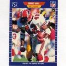 1989 Pro Set Football #014 Gerald Riggs UER - Atlanta Falcons