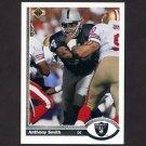1991 Upper Deck Football #673 Anthony Smith - Los Angeles Raiders