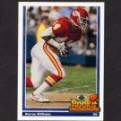 1991 Upper Deck Football #625 Harvey Williams - Kansas City Chiefs