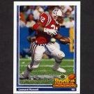 1991 Upper Deck Football #622 Leonard Russell RC - New England Patriots