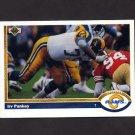 1991 Upper Deck Football #497 Irv Pankey - Los Angeles Rams