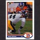 1991 Upper Deck Football #382 Mark Jackson - Denver Broncos