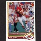 1991 Upper Deck Football #374 Deron Cherry - Kansas City Chiefs