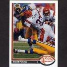 1991 Upper Deck Football #363 David Fulcher - Cincinnati Bengals