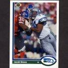 1991 Upper Deck Football #336 Jacob Green - Seattle Seahawks