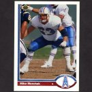 1991 Upper Deck Football #333 Mike Munchak - Houston Oilers