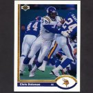 1991 Upper Deck Football #330 Chris Doleman - Minnesota Vikings